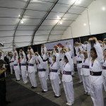 Group Qi Gong Tai Chi Exercise