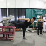 Jimmy Tu performs Iron Leg.