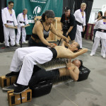 Iron Body Qi Gong performed on bed of nail.