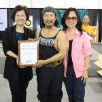 Kung Fu Magazine Owner Gigi Oh with Grandmaster Tu and his wife Sandy.